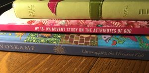 Ann Voskamp's Unwrapping the Greatest Gift, He Is: An Advent Study on the Attributes of God, NIV Bible